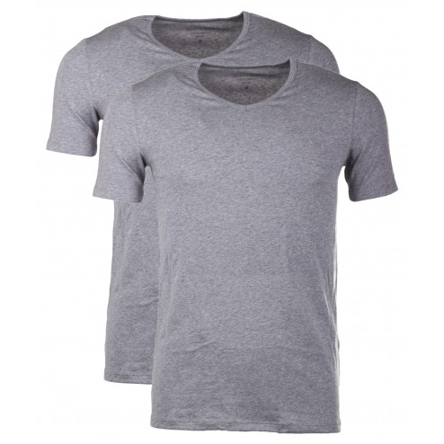 Marc O'Polo Body & Beach Herren 2er Pack T-Shirt V-Neck