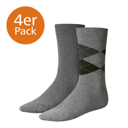 Tommy Hilfiger Socken im 4er Pack