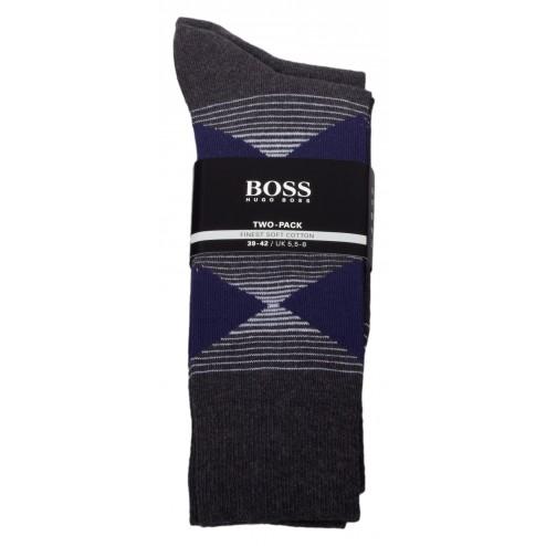 "BOSS Socken Colour Edition ""Finest soft Cotton"" im 2er Pack"