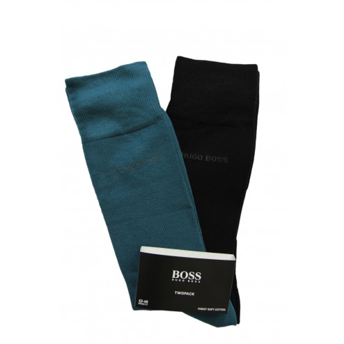 "BOSS Socken Colour Edition ""Finest soft Cotton"" im 2er Pack"