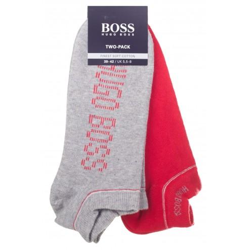 BOSS Sneaker-Socken 'Twopack AS Design' im 2er Pack