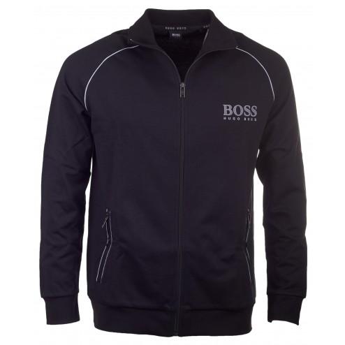 BOSS Sweatshirt-Jacke aus Baumwoll-Mix: 'Jacket Zip' by Hugo Boss