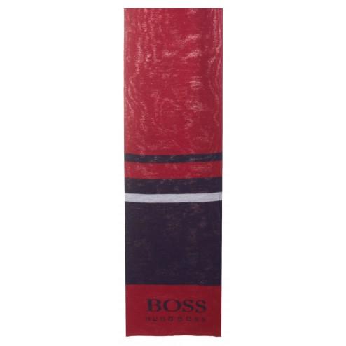 Boss Green Halstuch Schal aus Baumwolle
