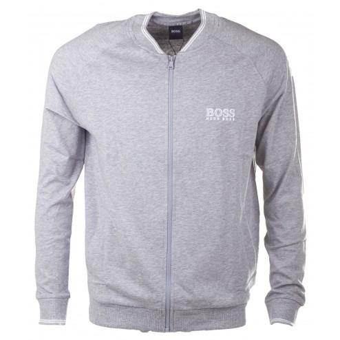 BOSS  Trainingsjacke 'College Jacket Zip'