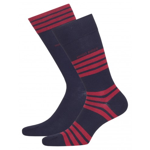 BOSS 2er Pack Socken 2P RS Stripe CC