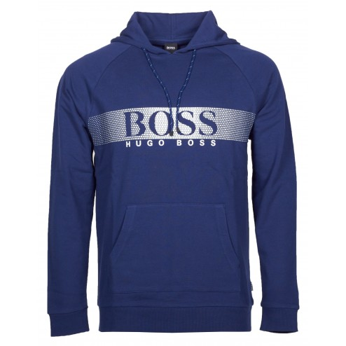 BOSS Kapuzen-Sweatshirt-Jacke 'LS-Shirt Hooded'