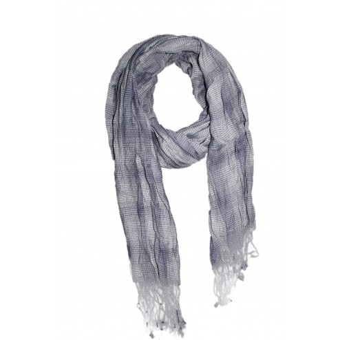 Modischer Schal Pure Grau