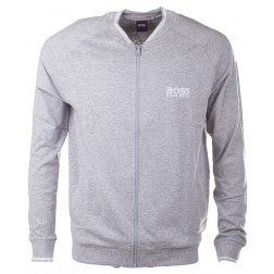 BOSS  Trainingsjacke 'College Jacket Zip'